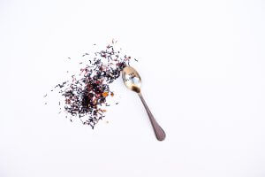 Weigh your tea leaves or use a spoon that you know will scoop up the right amount