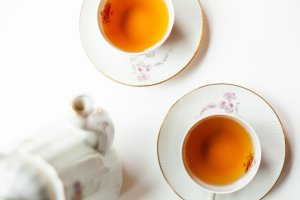 The mindfulness of brewing good tea during a tea break