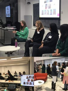 Panel discussion on how female founded business. How to overcome self doubt and lack of confidence