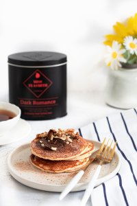 Pancakes infused with Sri Lankan tea, cocoa shells, nibs, mint and liquorice. Easy and simple recipes for Strove Tuesday and for Sunday breakfasts. So different from all the other pancakes around!!