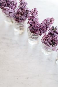 Lavender and Earl on the Moor summer cordial - give your summer coolers a lot more interest.
