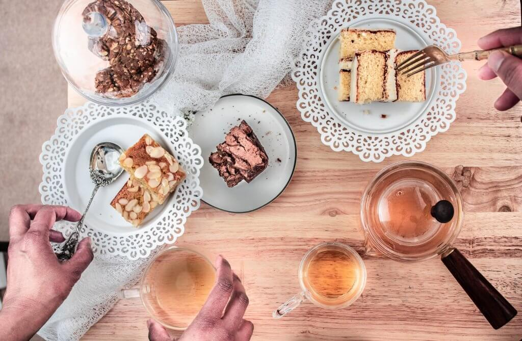A quick guide on how to host a traditional English Afternoon Tea. Have English tea Indoors or outdoors with a few simple delicious typical British tea cakes, pastries, biscuits and sandwiches.  Paired with tea that works with all of these.
